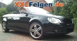 VW Eos und 18 Zoll DBV Costano Alufelgen