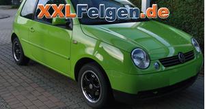 VW Lupo + DBV Tahiti black Leichtmetallfelgen