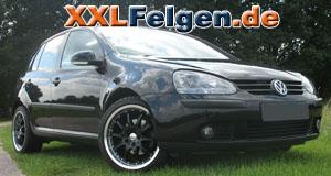 VW Golf 5 + DBV S-Australia 18 Zoll Felgen