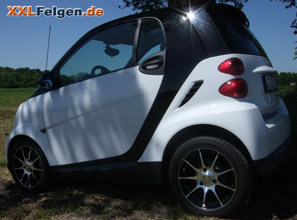 smart fortwo mit dbv s bali smartfelgen. Black Bedroom Furniture Sets. Home Design Ideas