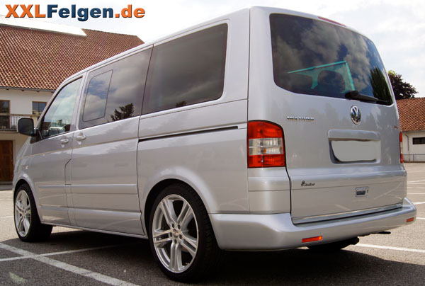 vw t5 dbv mauritius 20 zoll alufelgen. Black Bedroom Furniture Sets. Home Design Ideas