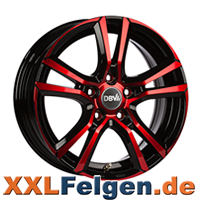 DBV Andorra Red Edition Colourline Felgen