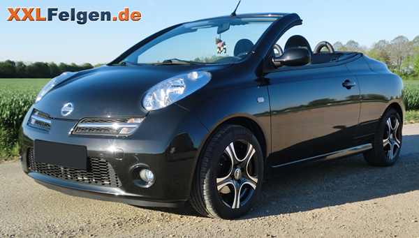 nissan micra cabrio dbv malaya 15 zoll alufelge pictures. Black Bedroom Furniture Sets. Home Design Ideas