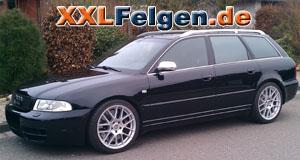 Audi S4 + DBV Arizona 18 Zoll Felgen