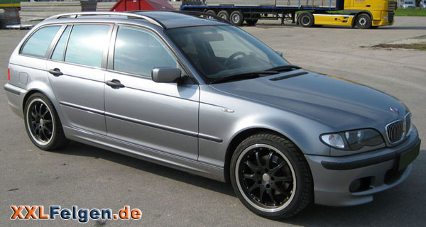 bmw 3er e46 touring mit dbv s australia 18 zoll felgen. Black Bedroom Furniture Sets. Home Design Ideas