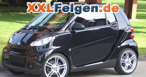 Smart Fortwo Typ 451 & DBV Smart Mauritius 17 Zoll