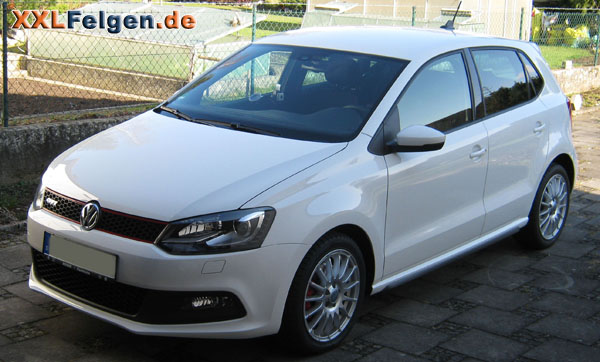 vw polo 6r gti mit 16 zoll felgen dbv florida. Black Bedroom Furniture Sets. Home Design Ideas