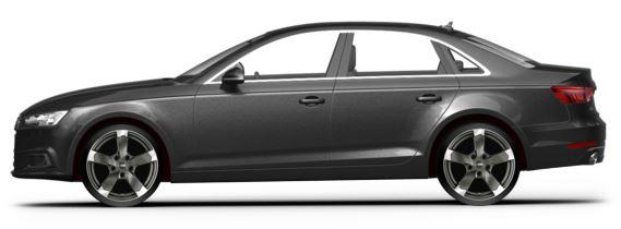 Audi A4 B8 19 Zoll Felgen DBV Torino 2 grau