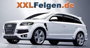 Audi Q7 + Hofele Reverso II Alufelgen in 22 Zoll