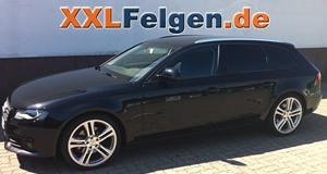 Audi A4 + DBV Mauritius 19 Zoll Alufelgen