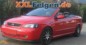 Opel Astra + DBV Arizona black 18 Zoll