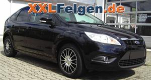 Ford Focus II DA3 mit DBV S-FLORIDA 16 Zoll Felgen