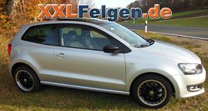 DBV S-Australia 16 Zoll Alufelgen für den VW Polo 6R