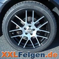 DBV Arizona black Alufelgen mit Reifen