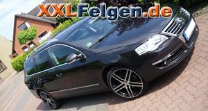 VW Passat + DBV S-Mauritius 19 Zoll Felgen