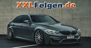 BMW 3er G20 mit DOTZ Misano dark Alufelgen