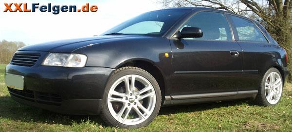 Preiswerte Kompletträder für den Audi A3 8L
