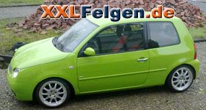 VW Lupo 6X + DBV Australia 16 Zoll Felgen