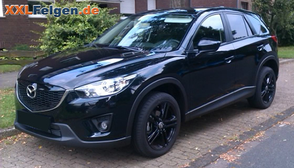 mazda cx 5 mit schwarzen 19 zoll alufelgen dbv mauritius. Black Bedroom Furniture Sets. Home Design Ideas