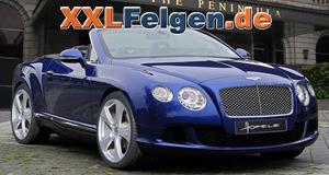 Bentley GTC + Hofele Reverso II Alufelgen in 22 Zoll