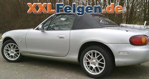 Mazda MX5 + DBV Arizona 15 Zoll Alufelgen und Reifen