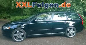 Volvo V50 + DBV Costano 19 Zoll Alufelgen und Wanli Reifen