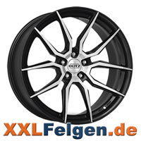 DOTZ Misano DARK Felgen - gunmetal polished in 17 bis 20 Zoll
