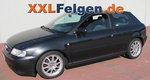 Audi A3 + DBV Australia 17 Zoll Leichtmetallfelgen