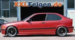 BMW 3er E36 + DBV S-Australia 17 Zoll Leichtmetallfelgen