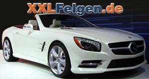 Mercedes Benz SL + Leichtmetallfelgen von Hofele in 20 Zoll