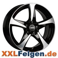 DBV 5SP 001 Felgen in schwarz