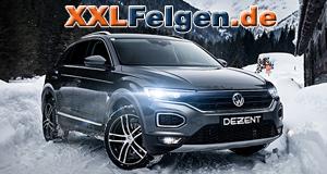 VW T-Roc mit DEZENT TZ DARK Felgen