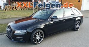 19 Zoll Leichtmetallfelgen DBV Milano für den Audi A4