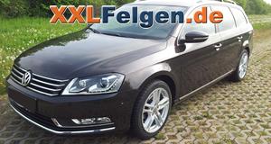 VW Passat B7 + DBV Mauritius 17 Zoll Alu-Felgen