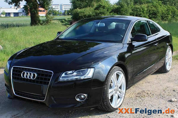 audi a5 mit dbv mauritius 20 zoll felgen. Black Bedroom Furniture Sets. Home Design Ideas