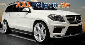Mercedes Benz GL-Klasse mit Hofele 20 Zoll Felgen