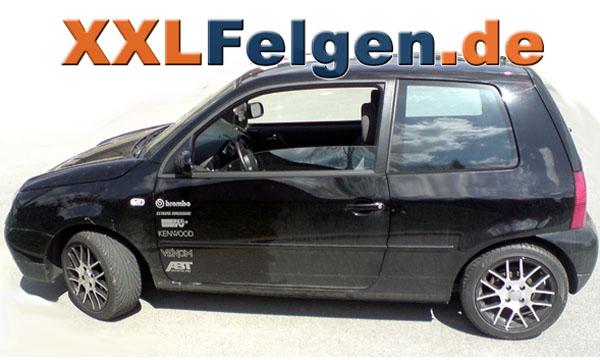 VW Lupo + DBV S-Arizona 15 Zoll Alufelgen