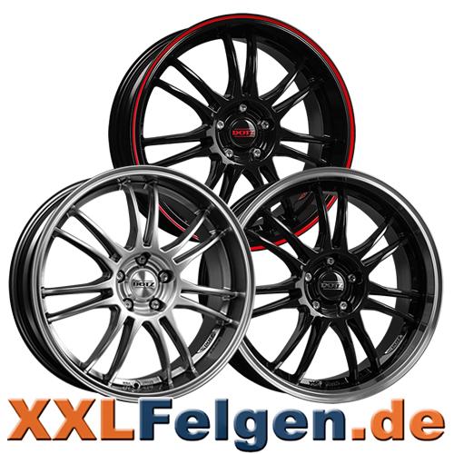 Dotz Shift shine Leichtmetallrad komplett mit Reifen