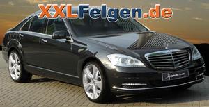Mercedes S-Klasse W221 mit Hofele Reverso II 20 Zoll Premiumfelge