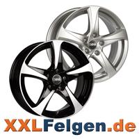 DBV Felgen 5SP 001 schwarz oder silber