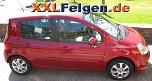 Renault Modus + DBV Lappland 15 Zoll Felgen