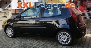 Fiat Punto mit DBV Florida Alufelgen 15 Zoll und Sommerreifen