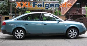 Audi A6 4B auf DBV Lappland Alufelgen + Allwetterreifen