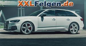 DBV 5SP 004 Alufelgen auf Audi