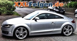 Audi TT Coupe 8J mit DBV Mauritius 20 Zoll Leichtmetallfelgen