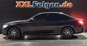 BMW F30 3er mit AEZ Kaiman dark Felgen
