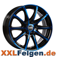 DBV Tropez Blue Edition Colourline Felgen