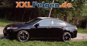 Honda Accord und DBV Torino II Alufelgen 19 Zoll