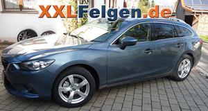 Mazda 6 GJ + DBV Torino II 17 Zoll Alufelgen