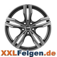 DBV Vienna Alufelgen im gummetal Finish online